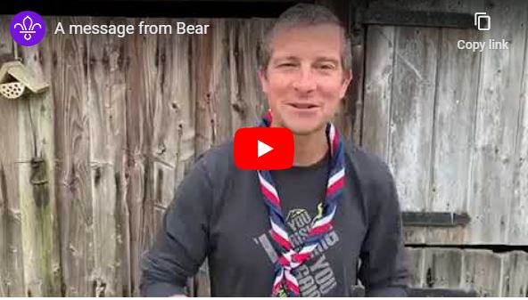 message from bear